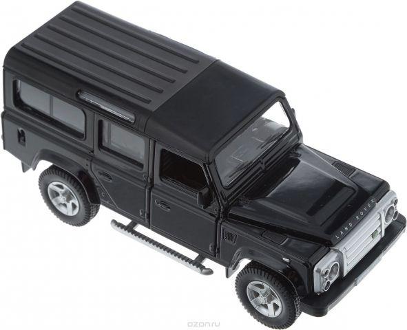 Autotime Модель автомобиля Land Rover Defender цвет черный