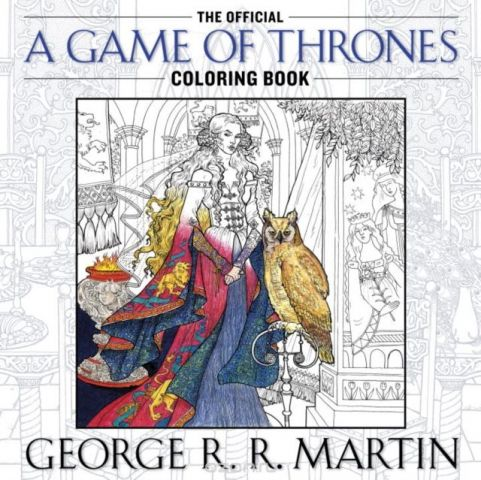 A Game of Thrones: The Official Coloring Book