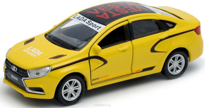 Welly Модель автомобиля LADA Vesta sport