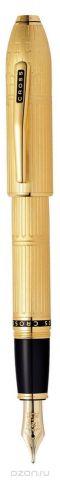 Cross Ручка перьевая Townsend цвет корпуса золотистый