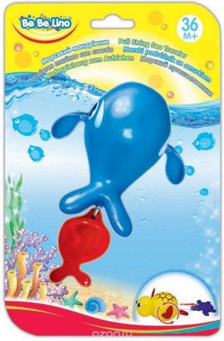 BebeLino Игрушка для ванной Морской путешественник-Кит