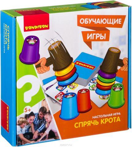 Bondibon Настольная игра Спрячь крота