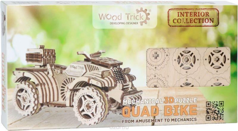 Wood Trick 3D Пазл Квадроцикл