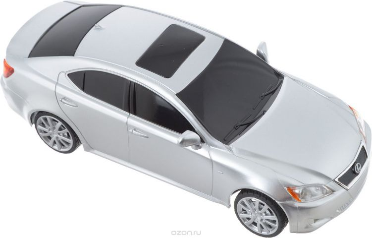 Rastar Радиоуправляемая модель Lexus IS350 цвет серебристый