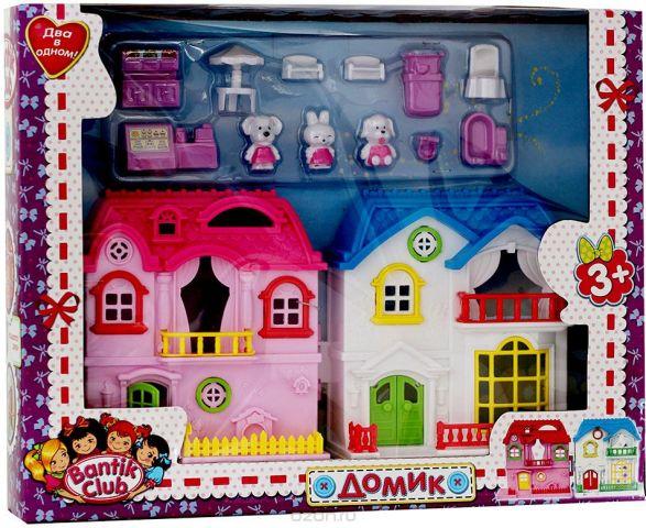 Bantik Club Кукольный домик с мебелью и аксессуарами