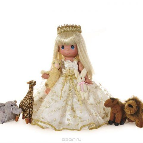 Precious Moments Кукла Маленький ребенок поведет их блондинка