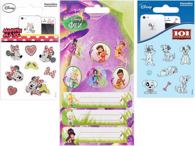 Disney Набор многоразовых наклеек Дисней 4627130657230