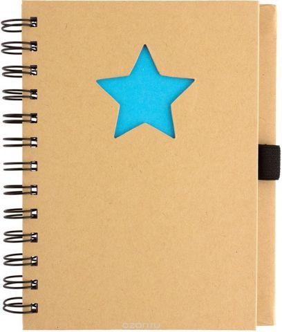 Fiteko Тетрадь Звезда 70 листов в клетку цвет светло-коричневый RPT-02