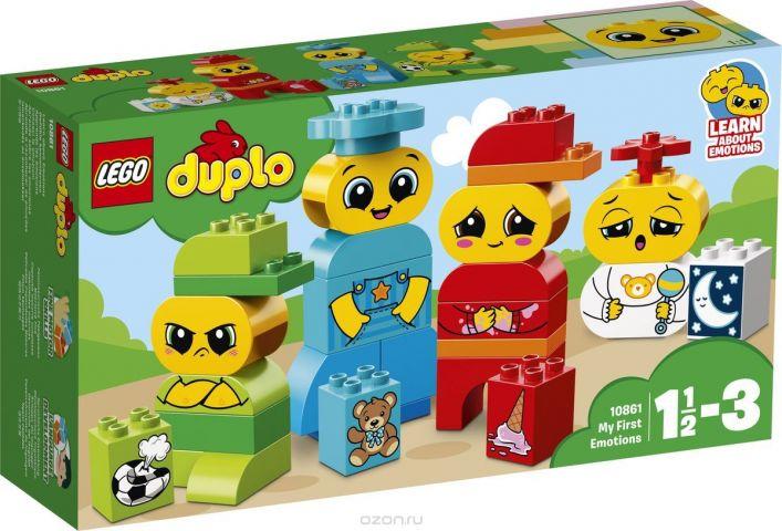 LEGO DUPLO My First Конструктор Мои первые эмоции 10861