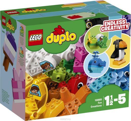 LEGO DUPLO My First Конструктор Веселые кубики 10865