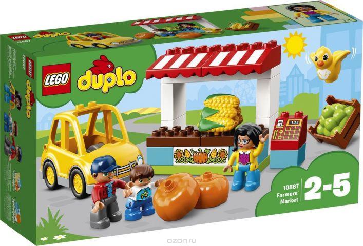 LEGO DUPLO Town Конструктор Фермерский рынок 10867