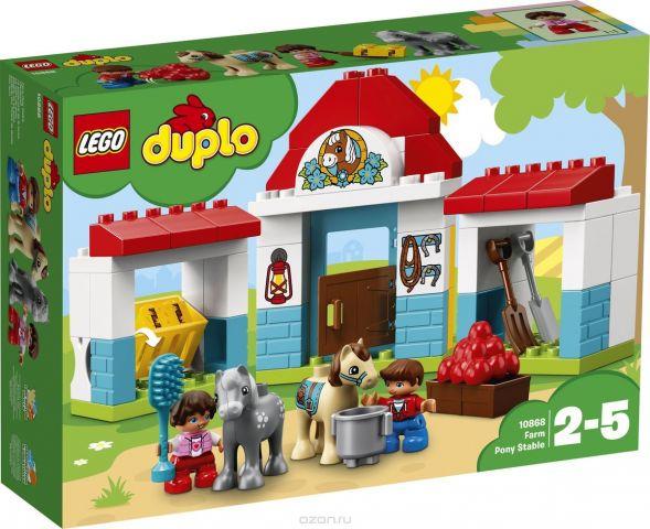 LEGO DUPLO Town Конструктор Конюшня на ферме 10868