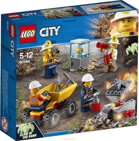 LEGO City Mining Конструктор Бригада шахтеров 60184