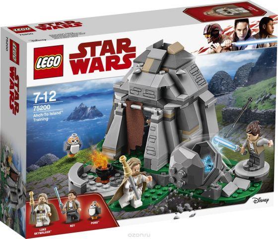 LEGO Star Wars Конструктор Тренировки на островах Эч-То 75200