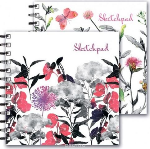 Феникс+ Альбом для эскизов Цветы 80 листов