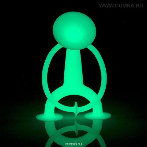 Moluk Фигурка функциональная Уги светящийся в темноте цвет светло-зеленый AP-43110