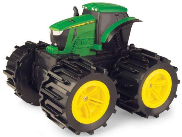 Tomy John Deere Трактор Mega Monster Wheels