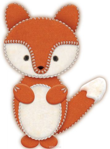 Школа талантов Набор для изготовления игрушки из фетра Лисичка
