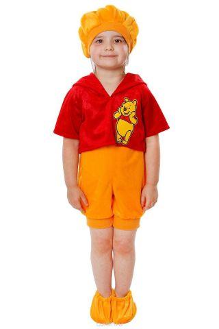 Батик Костюм карнавальный для мальчика Винни размер 26