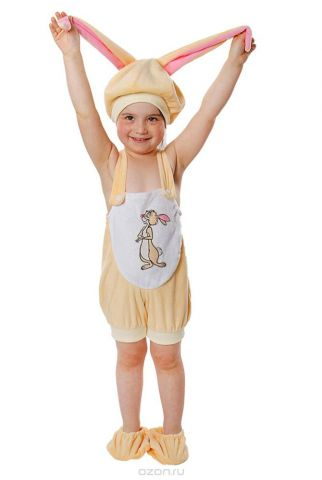 Батик Костюм карнавальный для мальчика Кролик размер 26