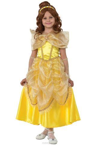 Батик Костюм карнавальный для девочки Принцесса Белль размер 36