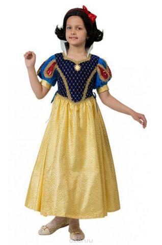 Батик Костюм карнавальный для девочки Принцесса Белоснежка размер 34