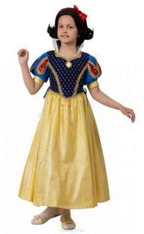 Батик Костюм карнавальный для девочки Принцесса Белоснежка размер 36
