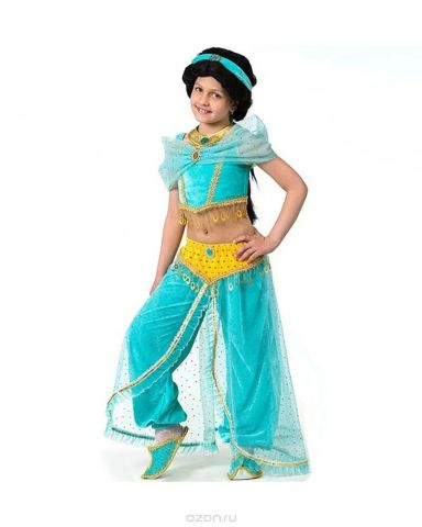 Батик Костюм карнавальный для девочки Принцесса Жасмин размер 36