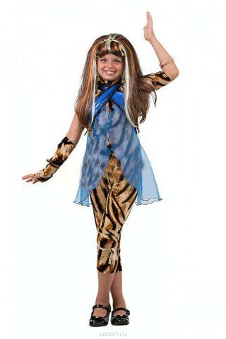 Батик Костюм карнавальный для девочки Клео де Нил размер 36