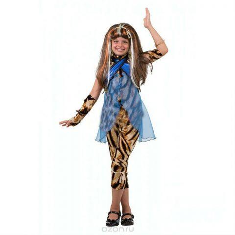 Батик Костюм карнавальный для девочки Клео де Нил размер 38