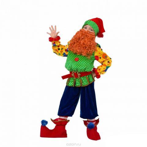 Батик Костюм карнавальный для мальчика Гном Том размер 34