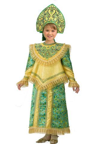 Батик Костюм карнавальный для девочки Царевна размер 32