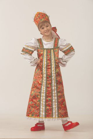 Батик Костюм карнавальный для девочки Аленушка размер 26