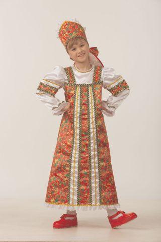 Батик Костюм карнавальный для девочки Аленушка размер 28