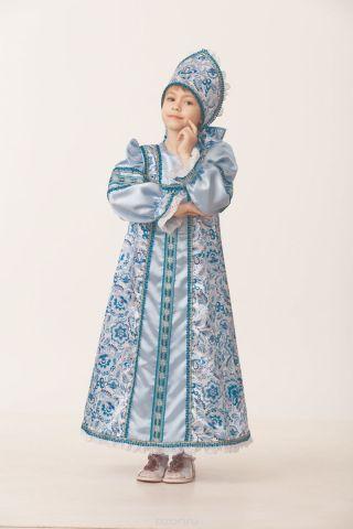 Батик Костюм карнавальный для девочки Василиса сказочная размер 32