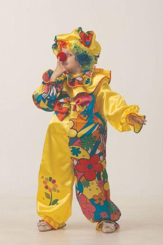 Батик Костюм карнавальный для мальчика Клоун сказочный размер 38