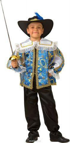 Батик Костюм карнавальный для мальчика Мушкетер сказочный размер 26