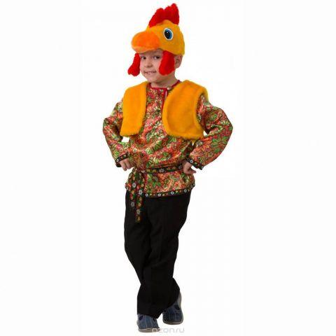 Батик Костюм карнавальный для мальчика Петушок Петруша размер 26