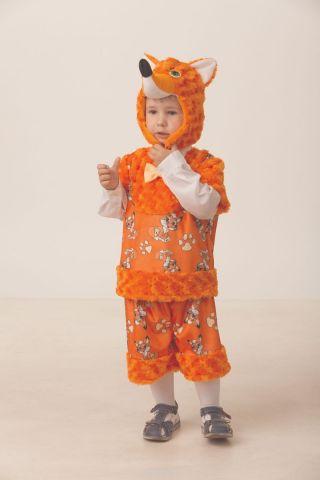 Батик Костюм карнавальный для мальчика Лисенок Рыжик размер 28
