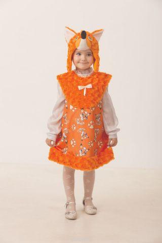 Батик Костюм карнавальный для девочки Лисичка Лиля размер 26