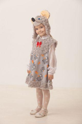 Батик Костюм карнавальный для девочки Мышка Малютка размер 26