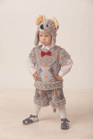 Батик Костюм карнавальный для мальчика Мышонок Шустрик размер 28