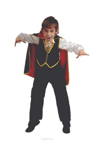 Батик Костюм карнавальный для мальчика Дракула размер 34