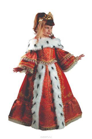 Батик Костюм карнавальный для девочки Императрица размер 32