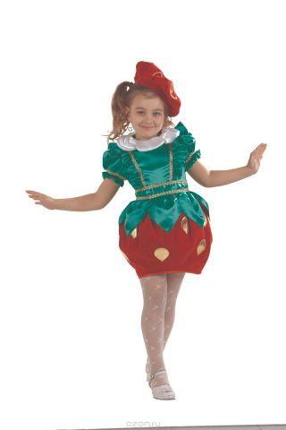 Батик Костюм карнавальный для девочки Клубничка размер 32