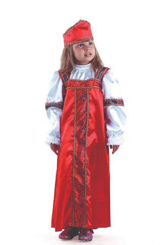 Батик Костюм карнавальный для девочки Марья-искусница размер 28
