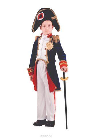 Батик Костюм карнавальный для мальчика Наполеон размер 32
