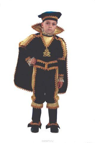 Батик Костюм карнавальный для мальчика Принц размер 30