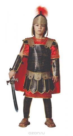 Батик Костюм карнавальный для мальчика Римский воин размер 34