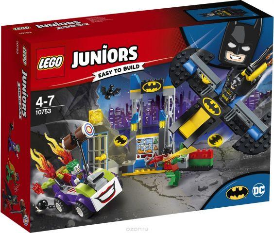 LEGO Juniors Конструктор Нападение Джокера на Бэтпещеру 10753